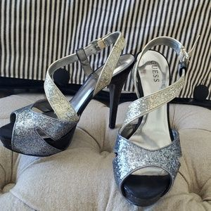 Guess silver and gold platforms